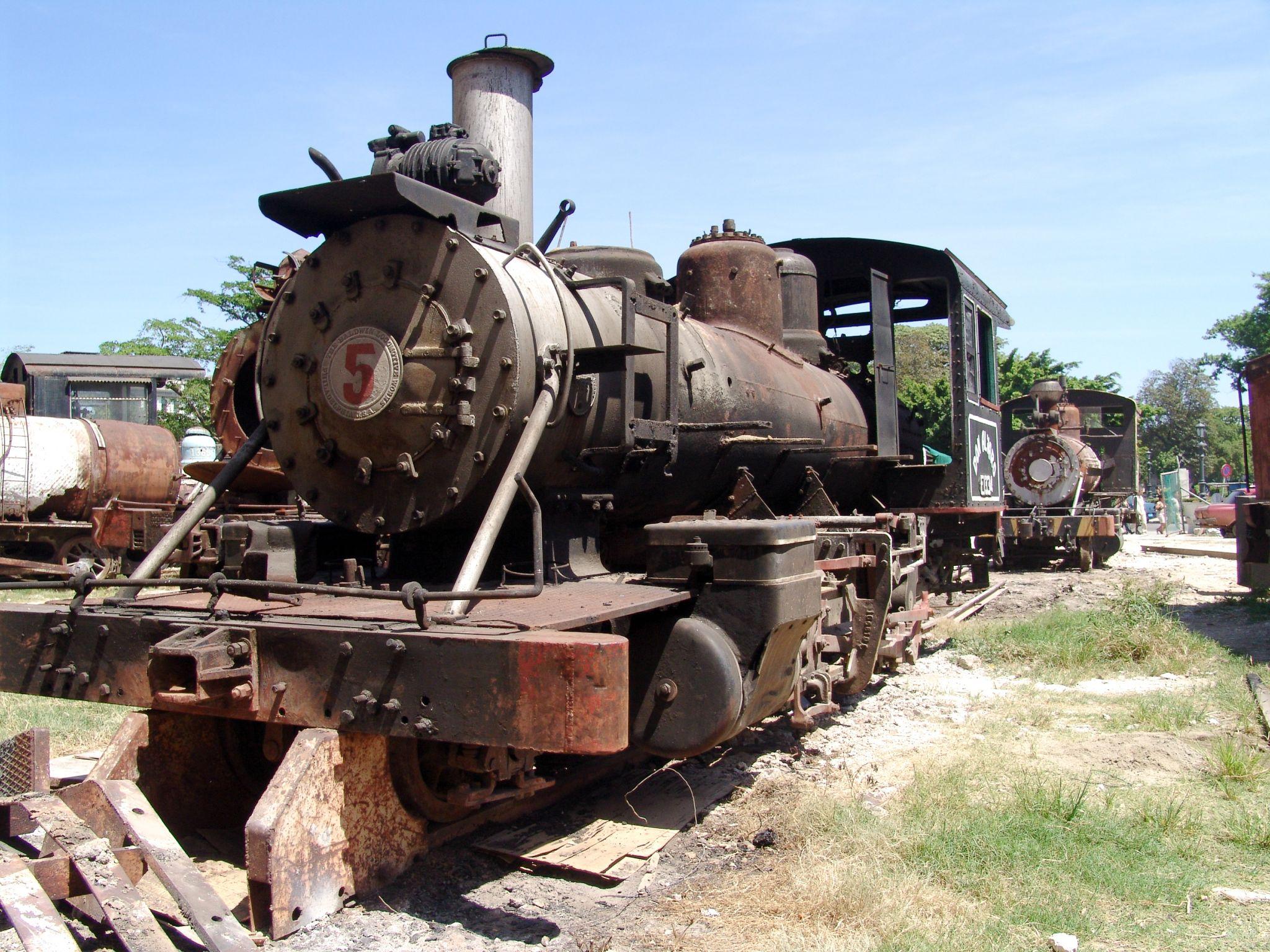 Locomotives, Cuba