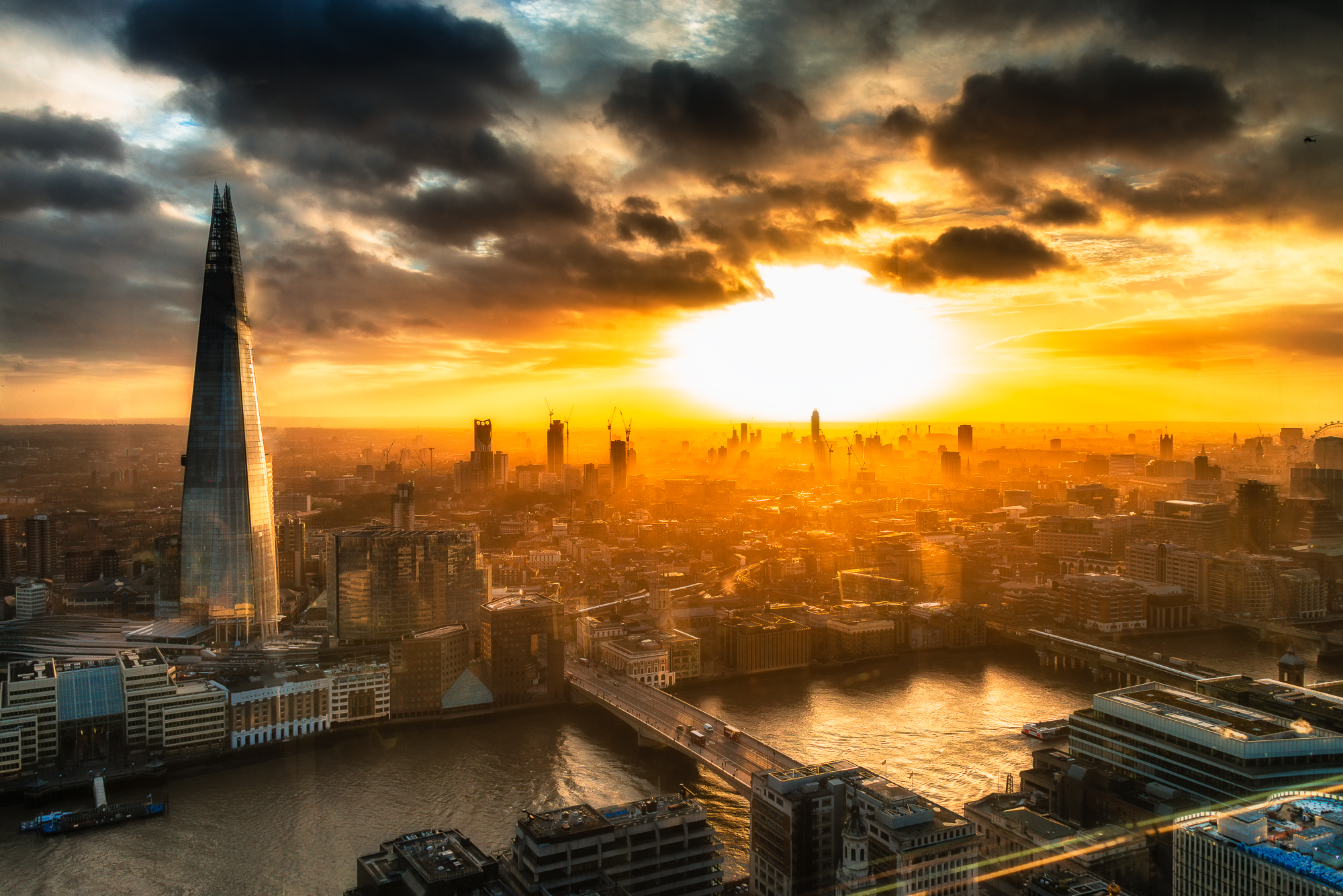 London Cityscape, United Kingdom