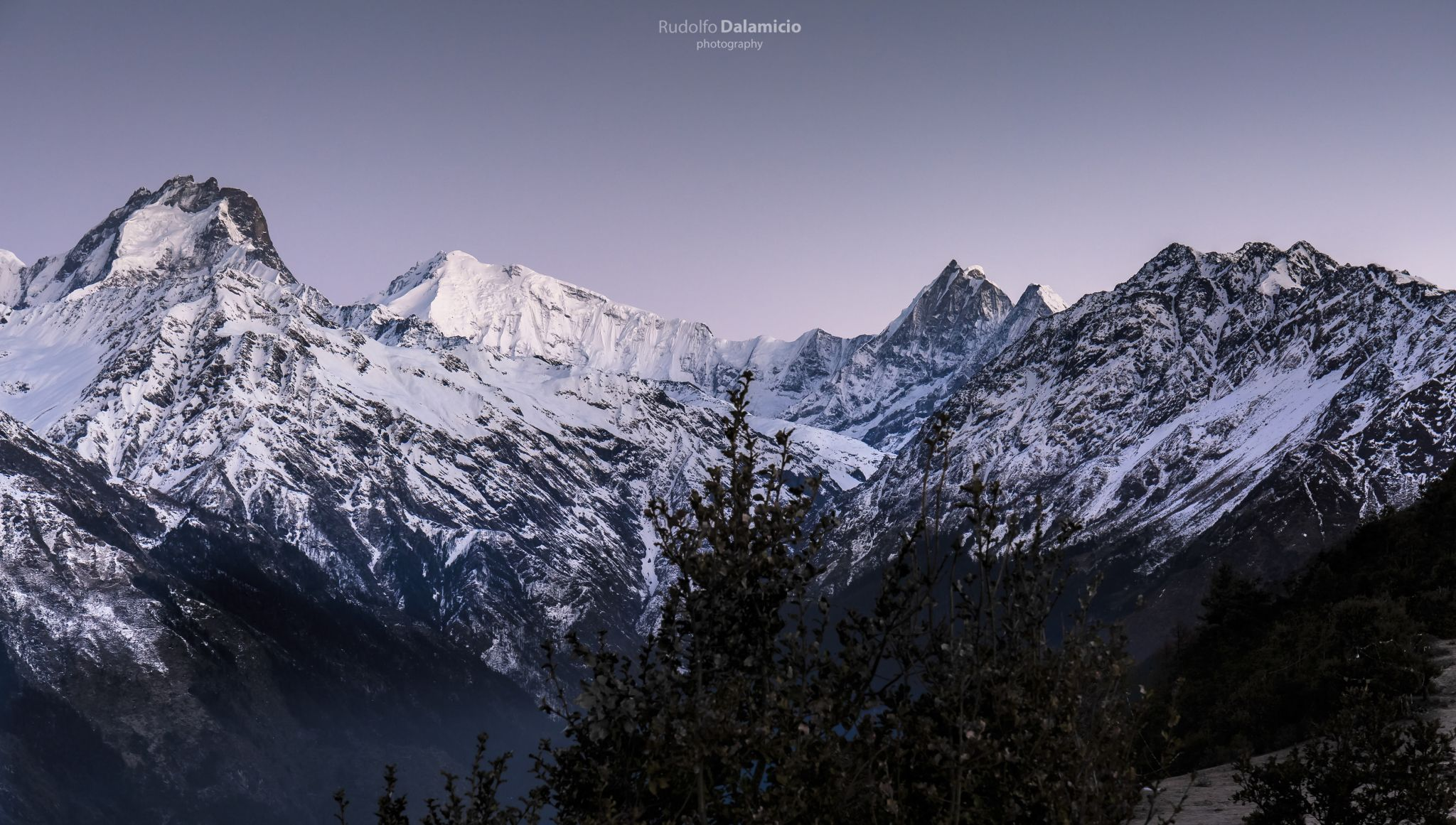 Looking at the giants., Nepal