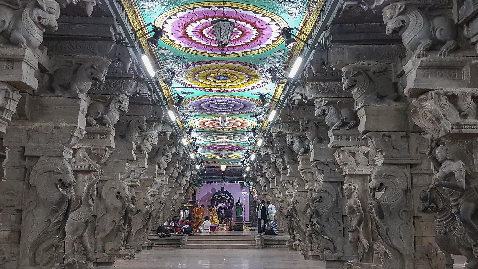 Meenakshi Temple, India