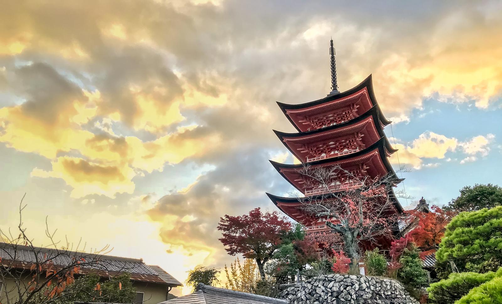 Miyajima - Five-storey Pagoda, Japan