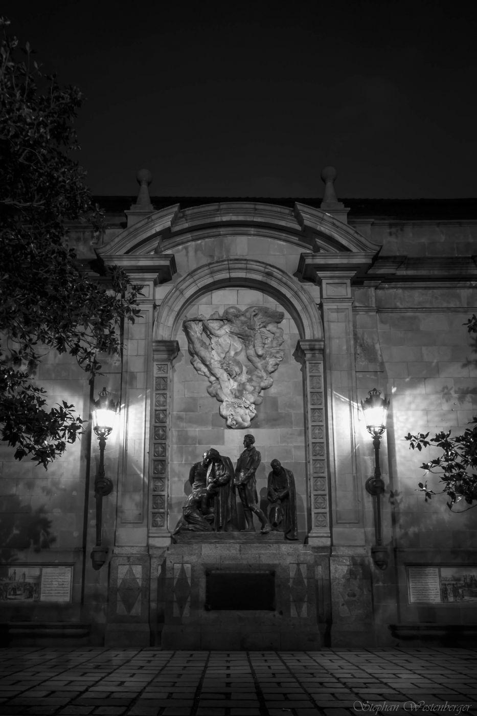 Monument als Herois del 1809 (Barcelona), Spain