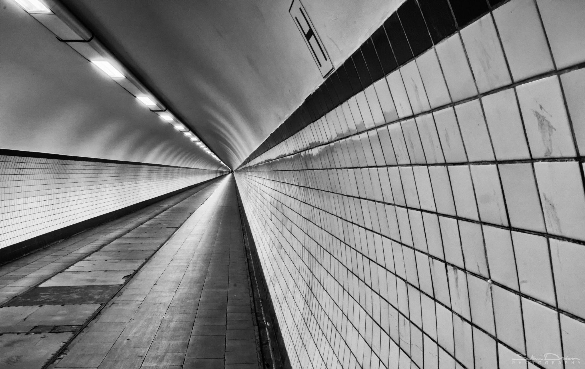 Pedestrian tunnel, Antwerp, Belgium