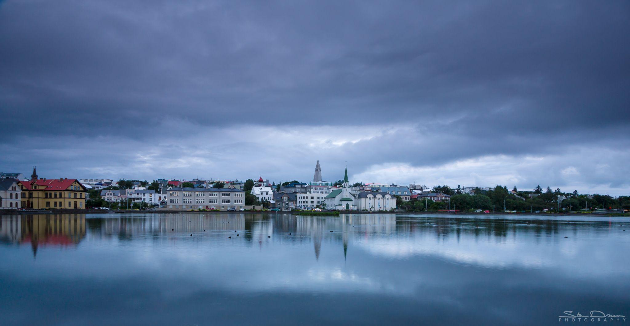 Reykjavik cityscape, Iceland