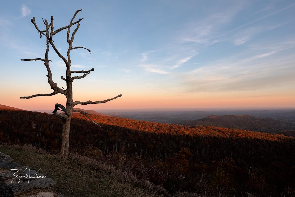 Shenandoah Sunset, USA