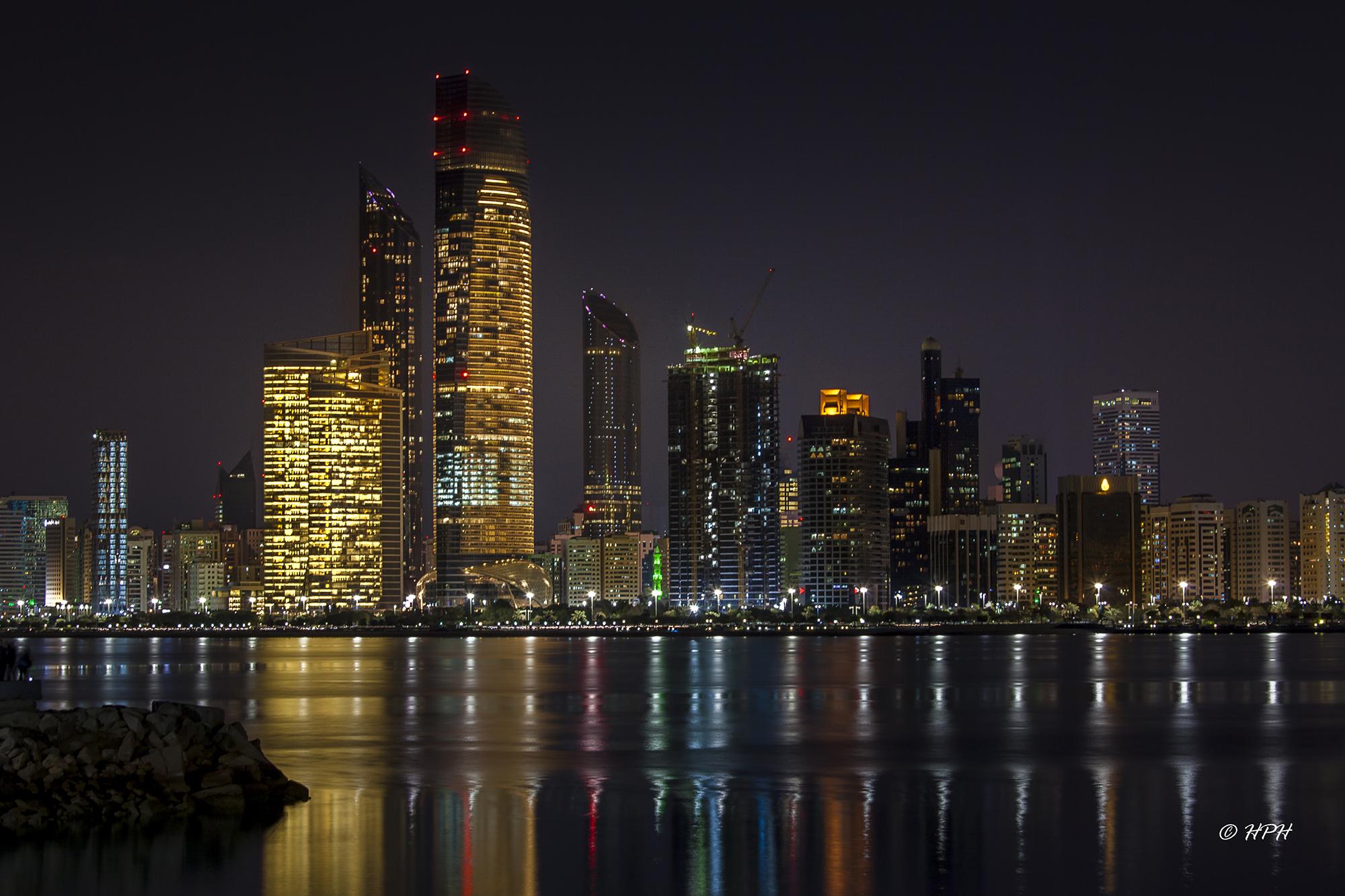 Skyline Abu Dhabi, United Arab Emirates