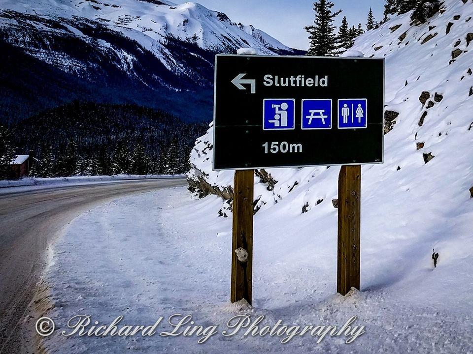 Slutfield Sign, Canada