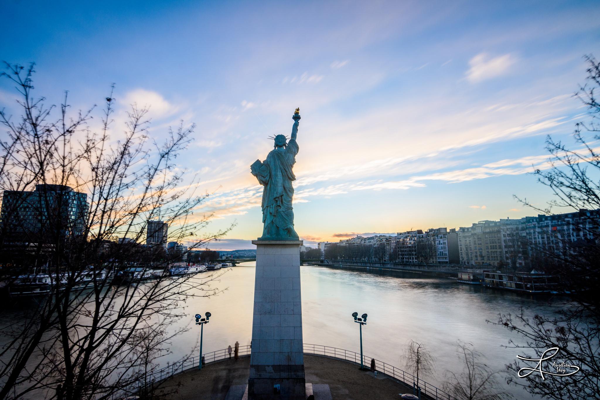 statue de la liberté - paris, France