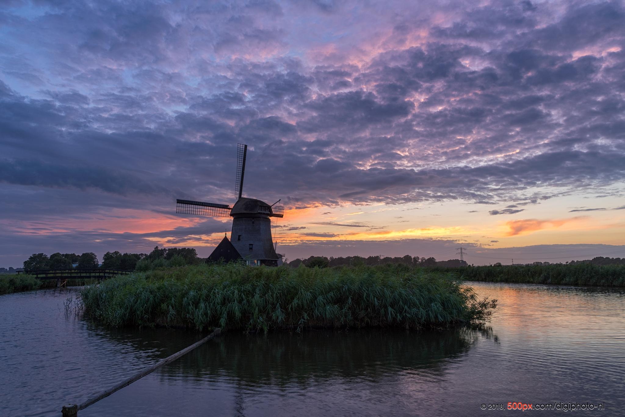The windmills, Netherlands