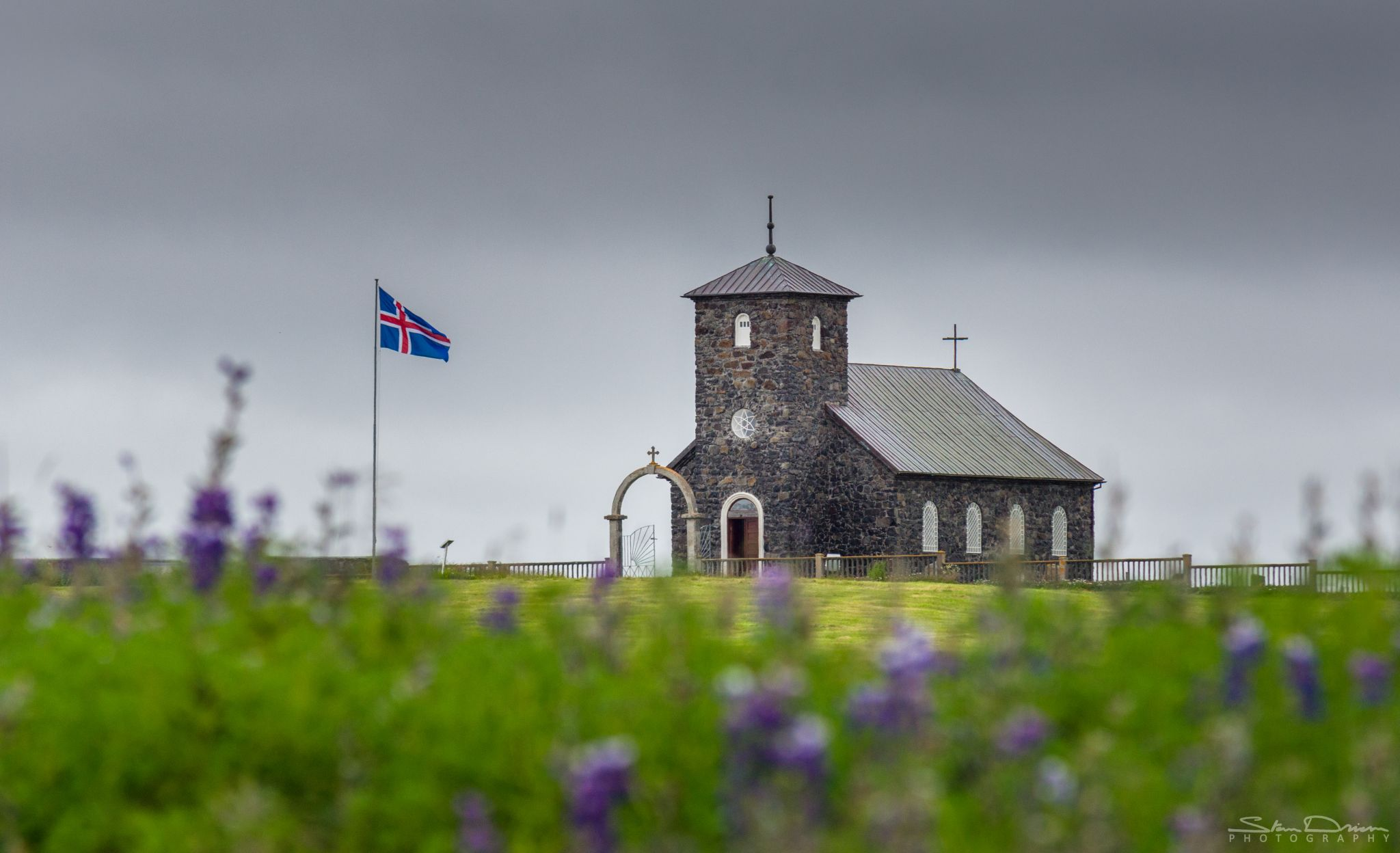 Þingeyrakirkja church, Iceland