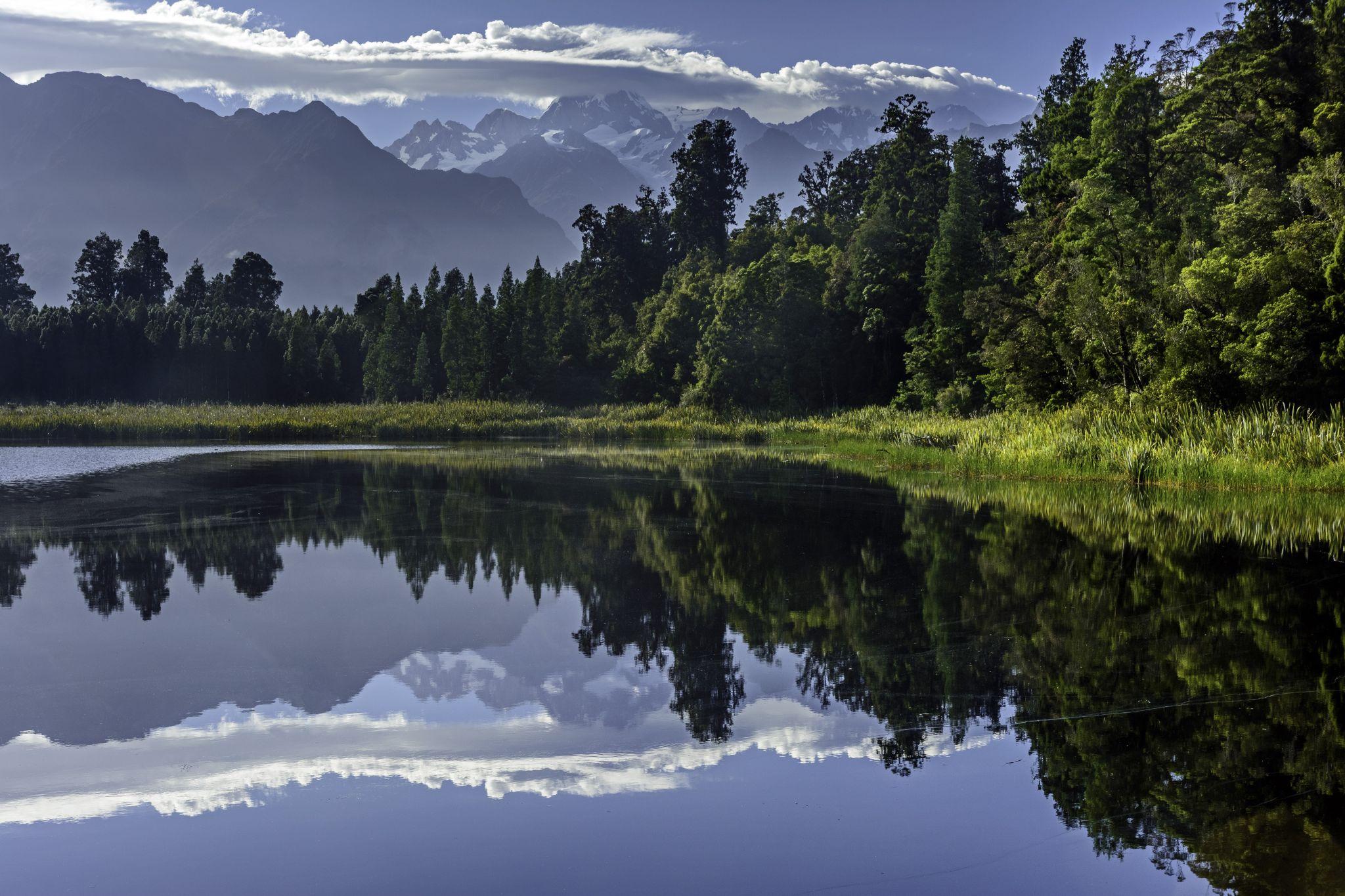 Reflection Point (Lake Matheson), New Zealand