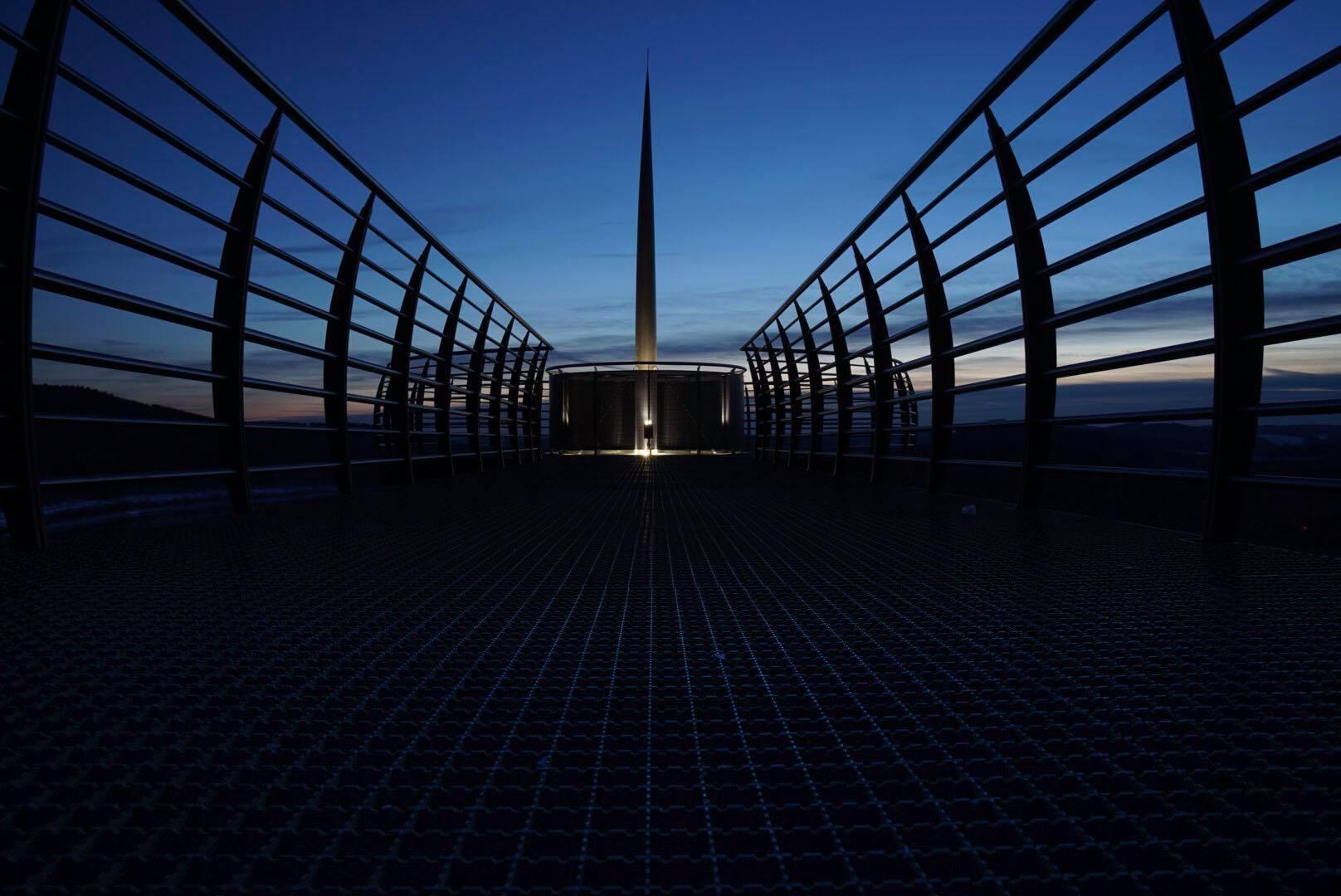 Viewing Platform Biggesee, Germany