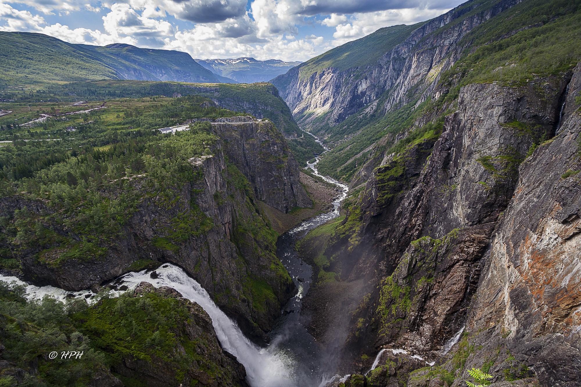 Vøringfossen waterfall, Norway