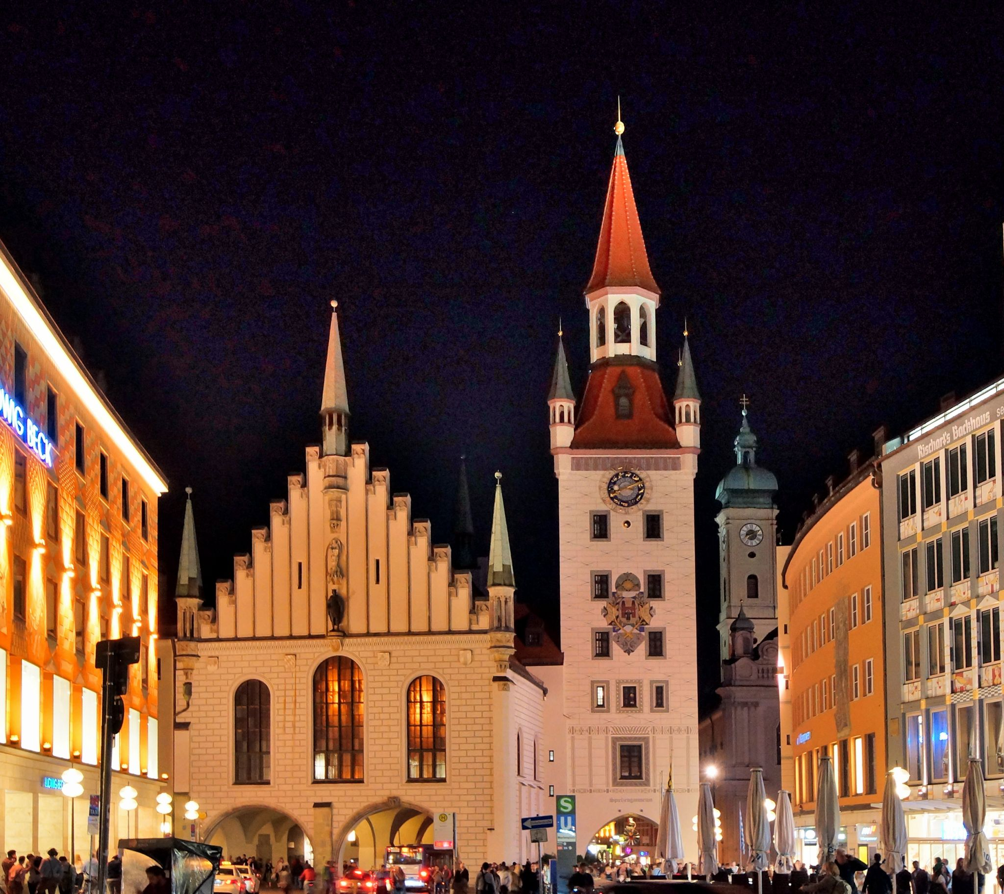 Altes Rathaus, Marienplatz, Munich, Germany