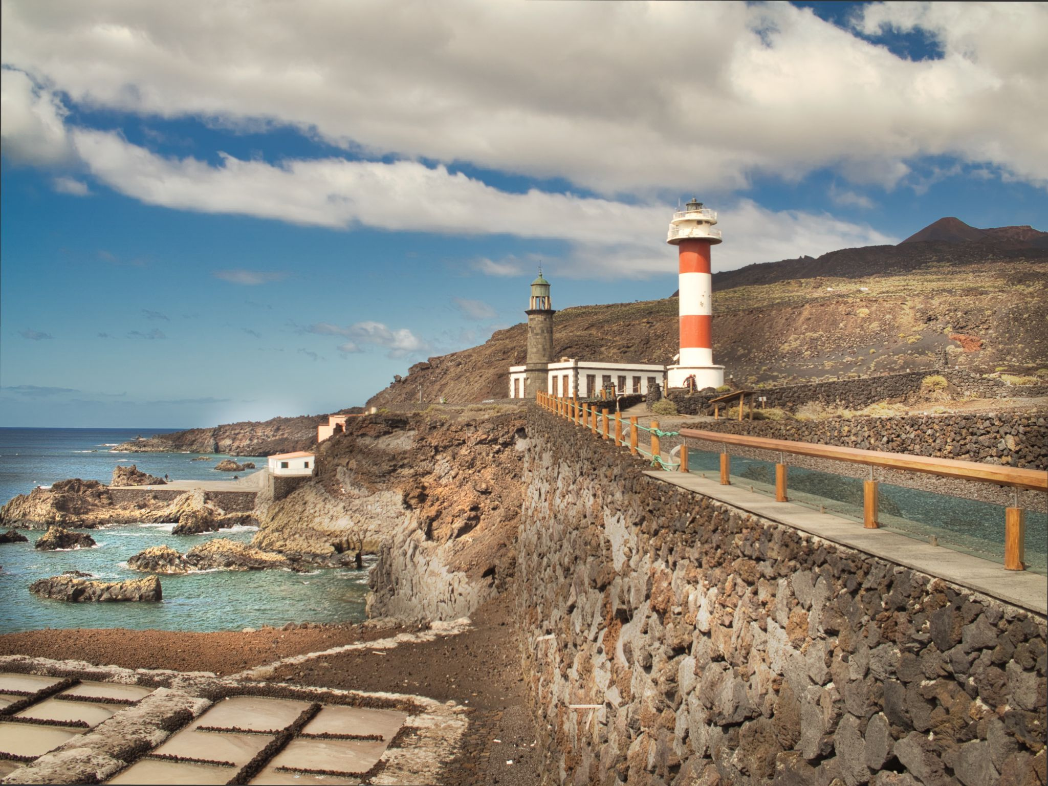 At the Tip of La Palma, Spain