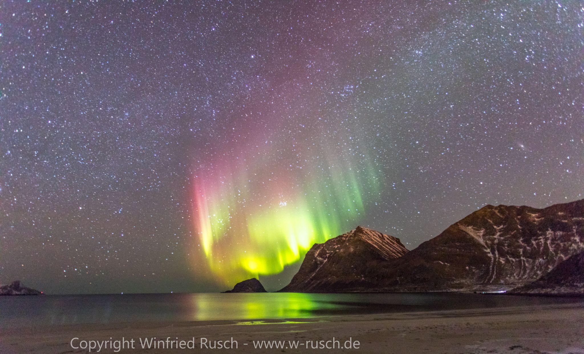 Aurora Borealis - Nordlichter, Norway