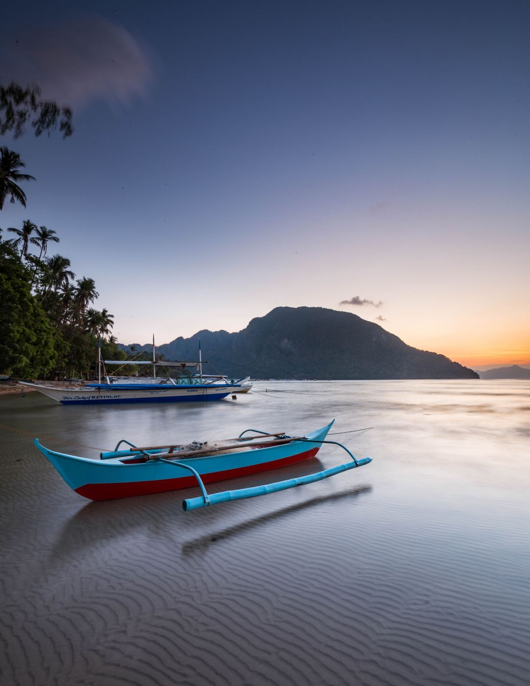 best sunset view at el nido, Philippines