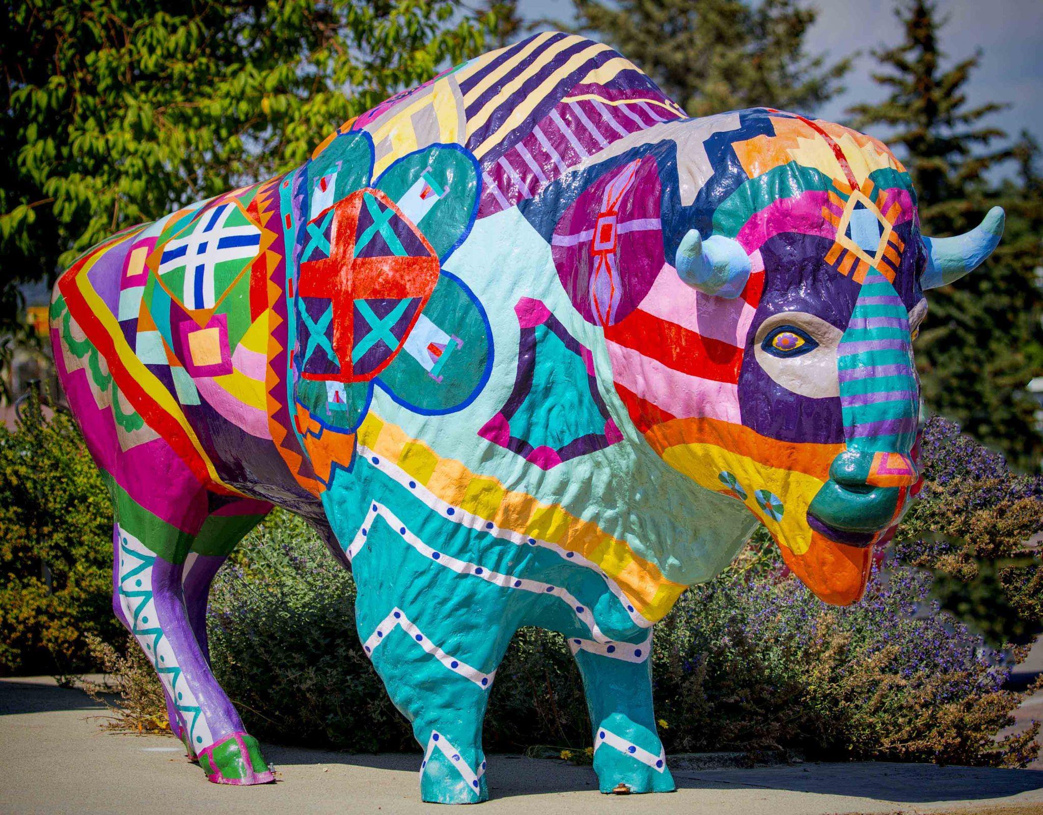 Buffalo Statues, USA
