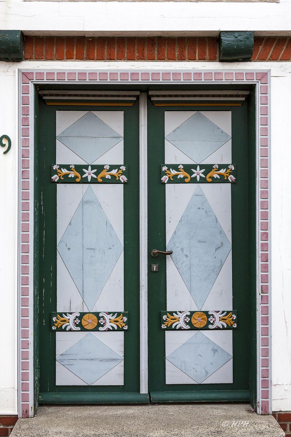 Carved Doors in Jork-Borstel, Germany