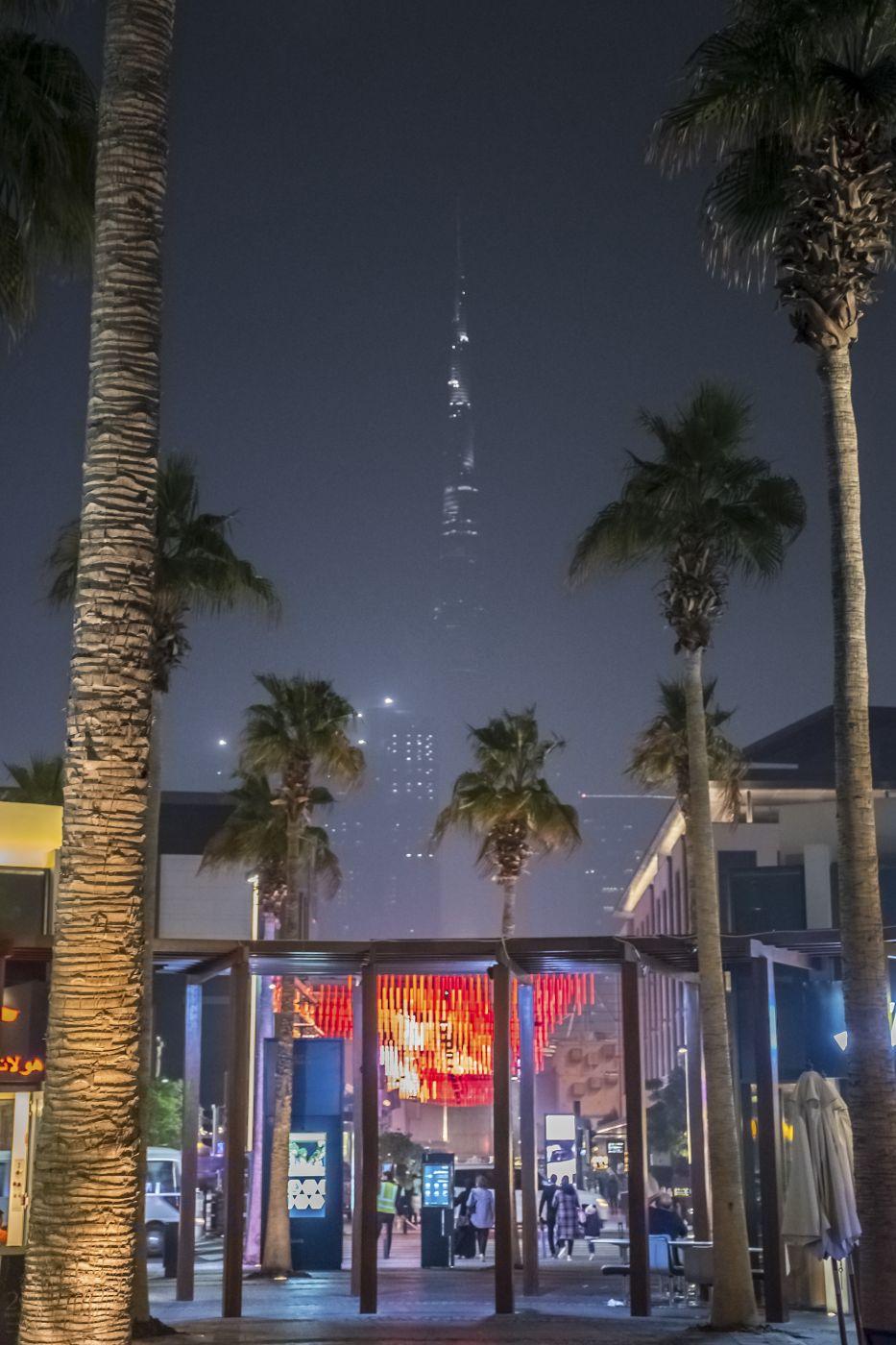 City Walk Nightsky, United Arab Emirates