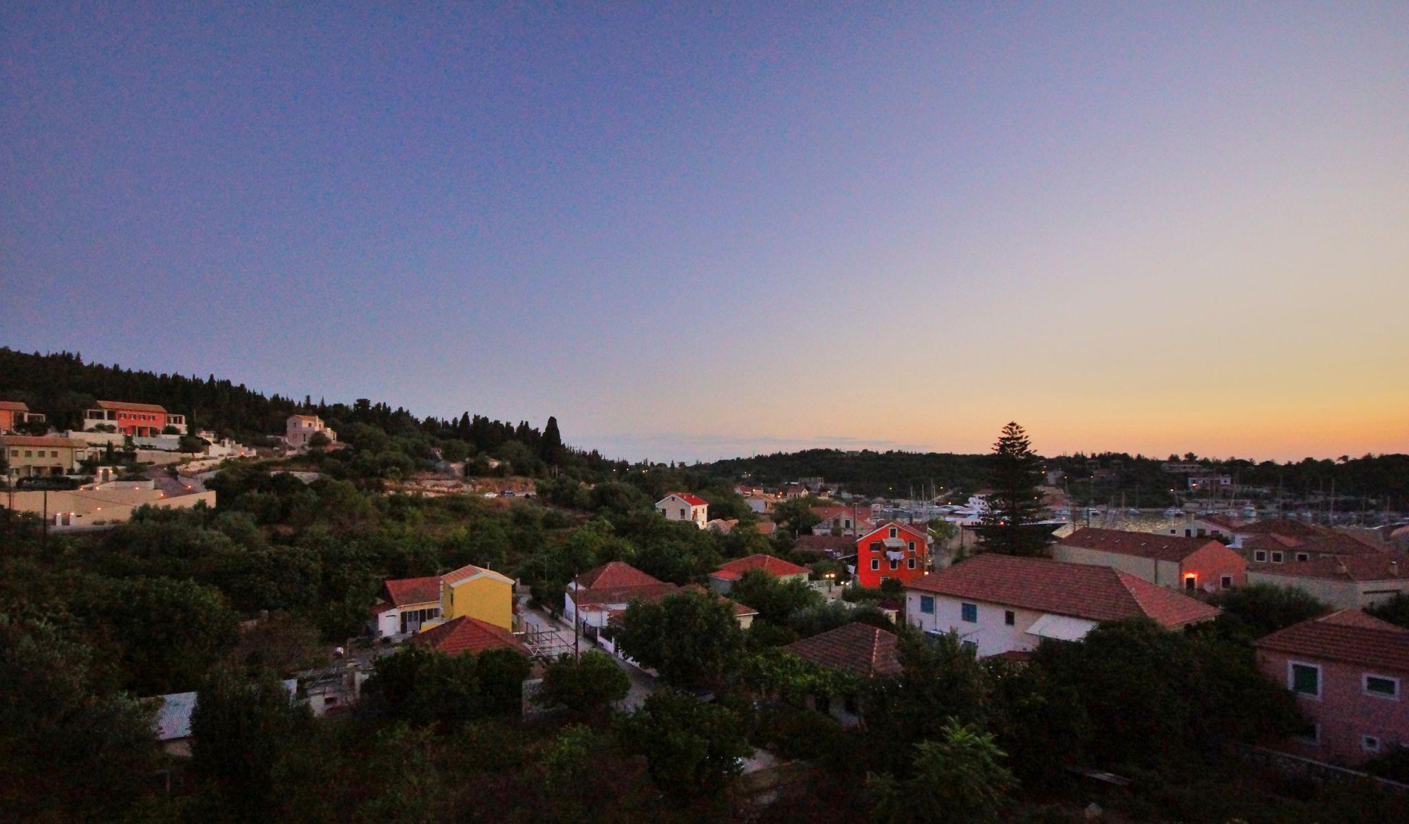 Fiscardo Bay at Dawn, Greece