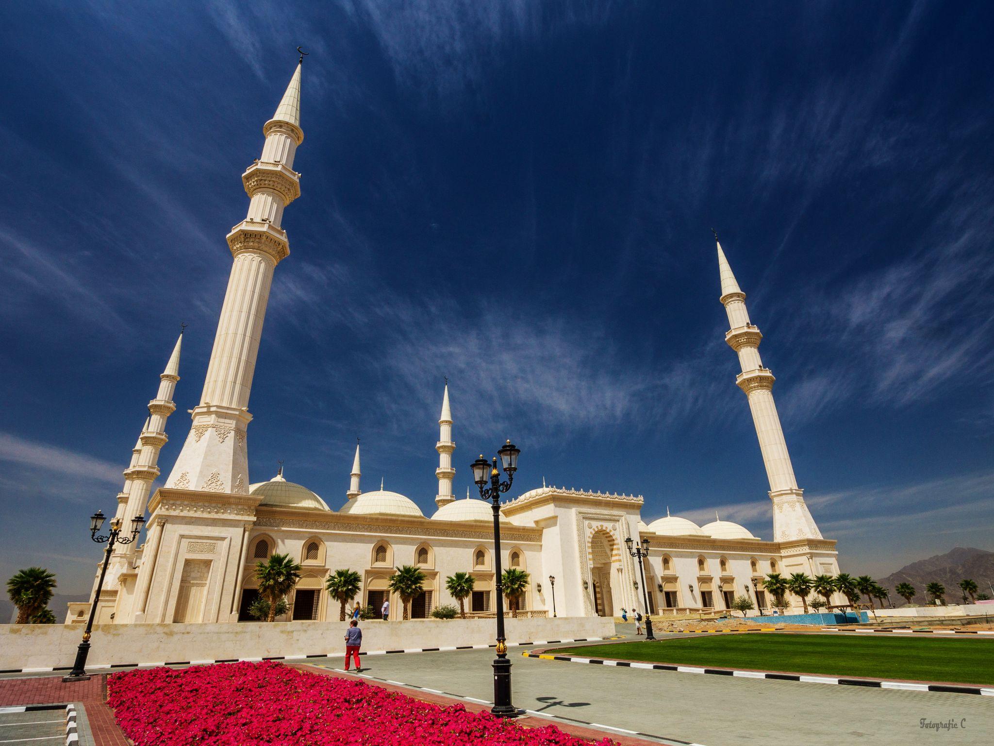 Fujairah Central Mosque, United Arab Emirates