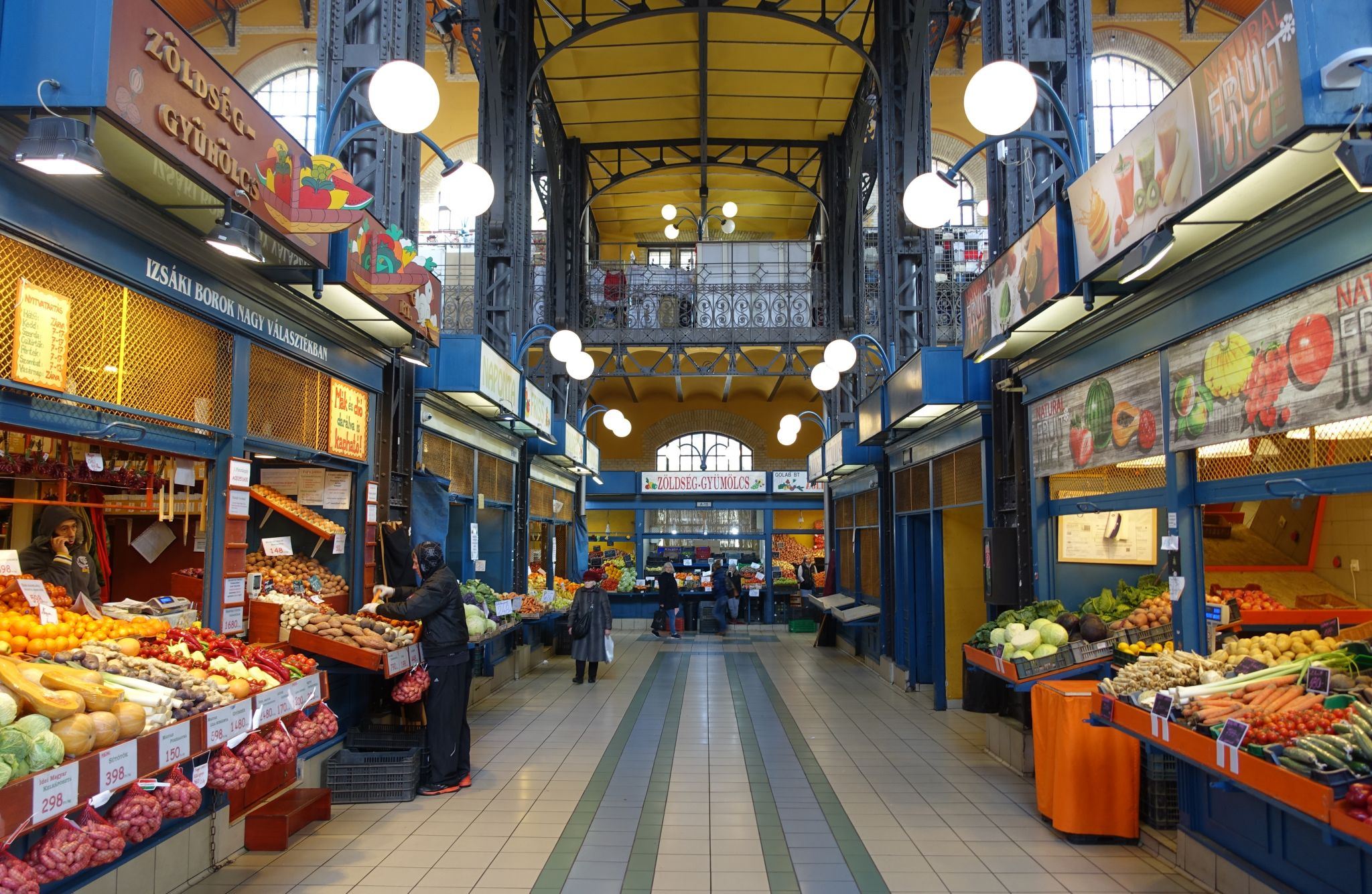 Great Market Hall Budapest, Hungary
