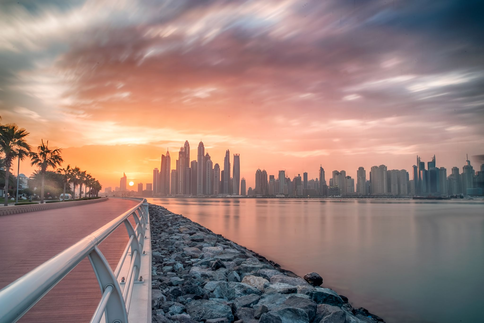 Jumeirah palm west Cresent, United Arab Emirates