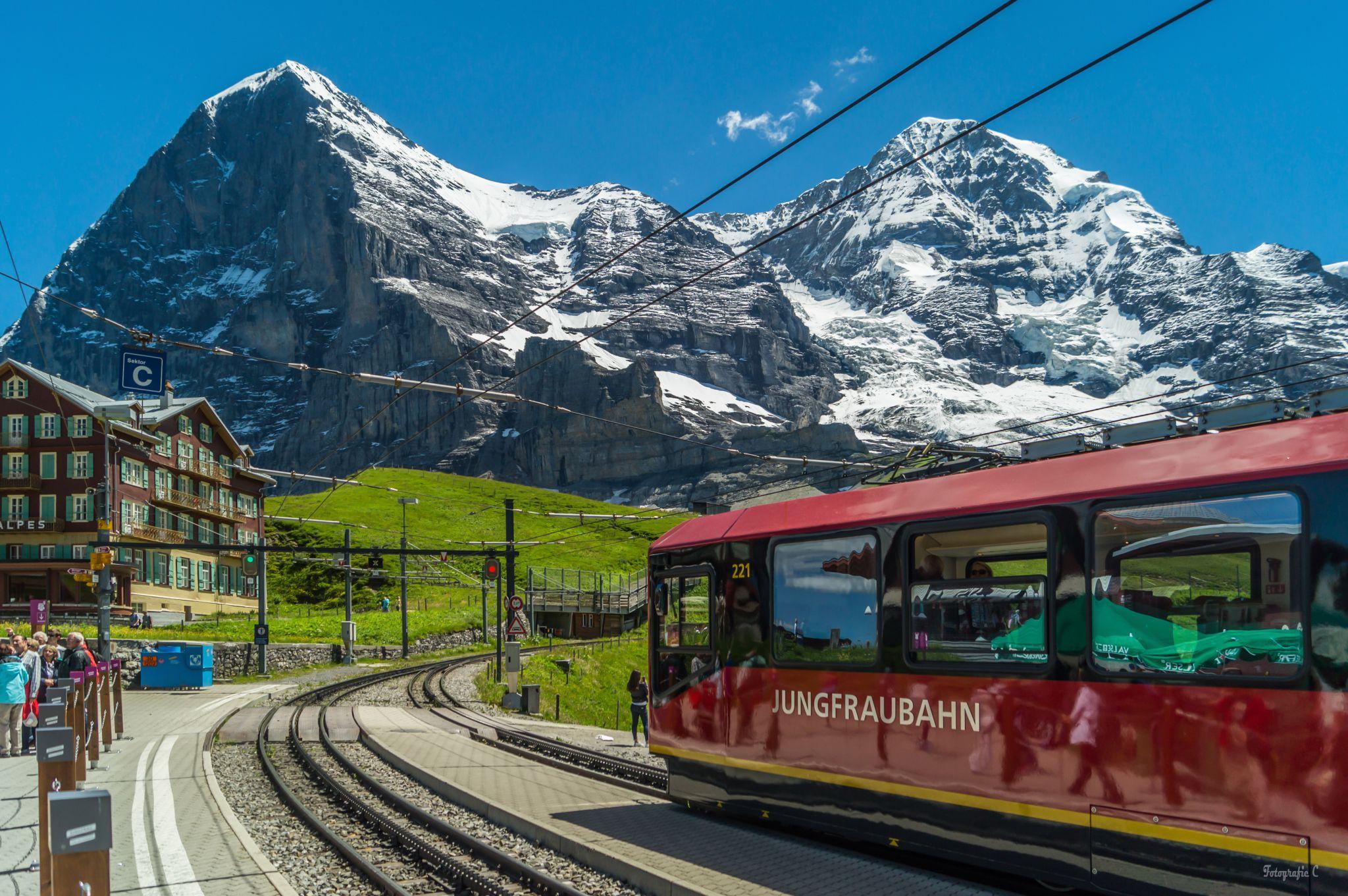Kleine Scheidegg, Schweiz, Switzerland