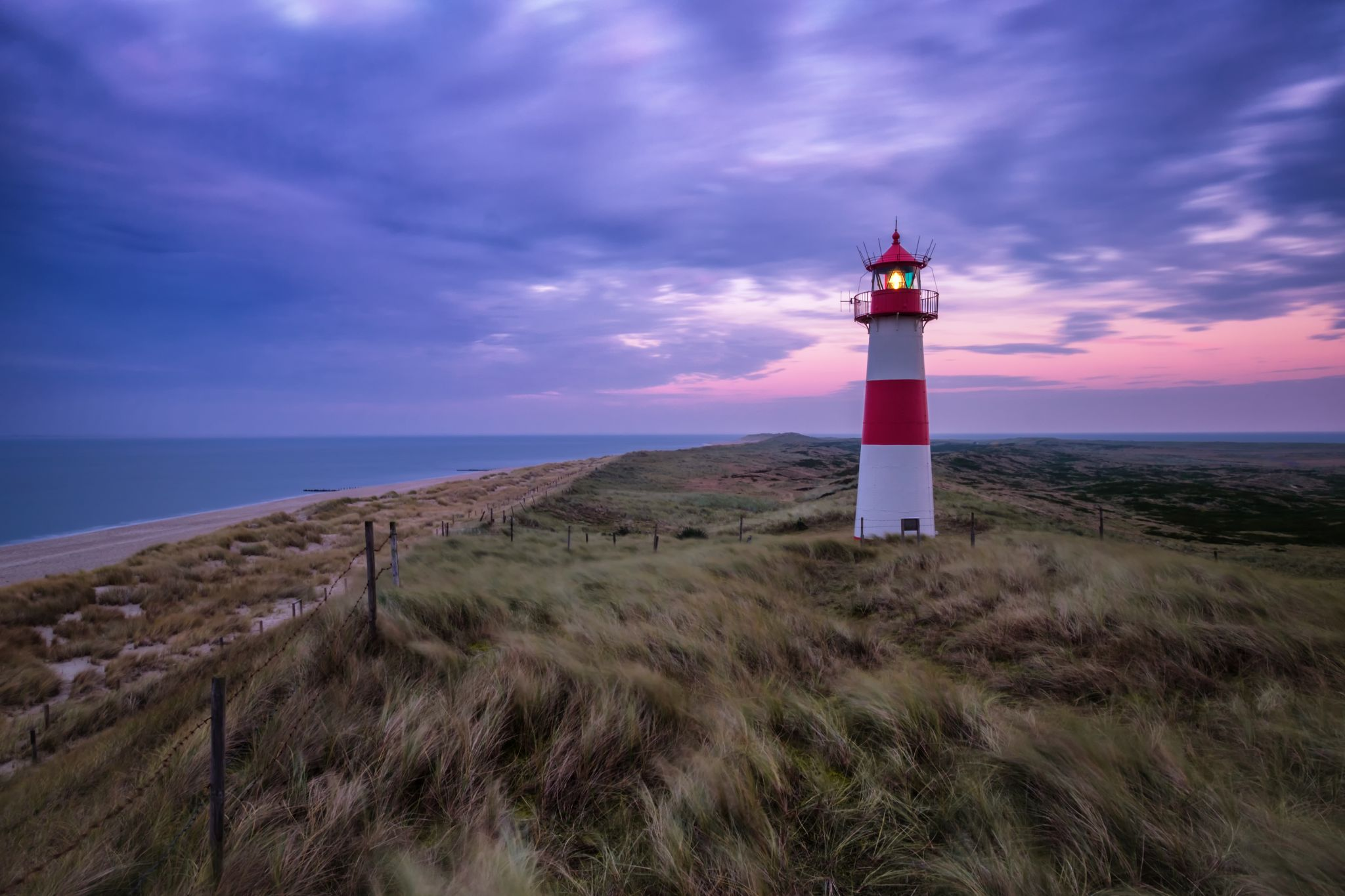 Lighthouse List East Sylt, Germany