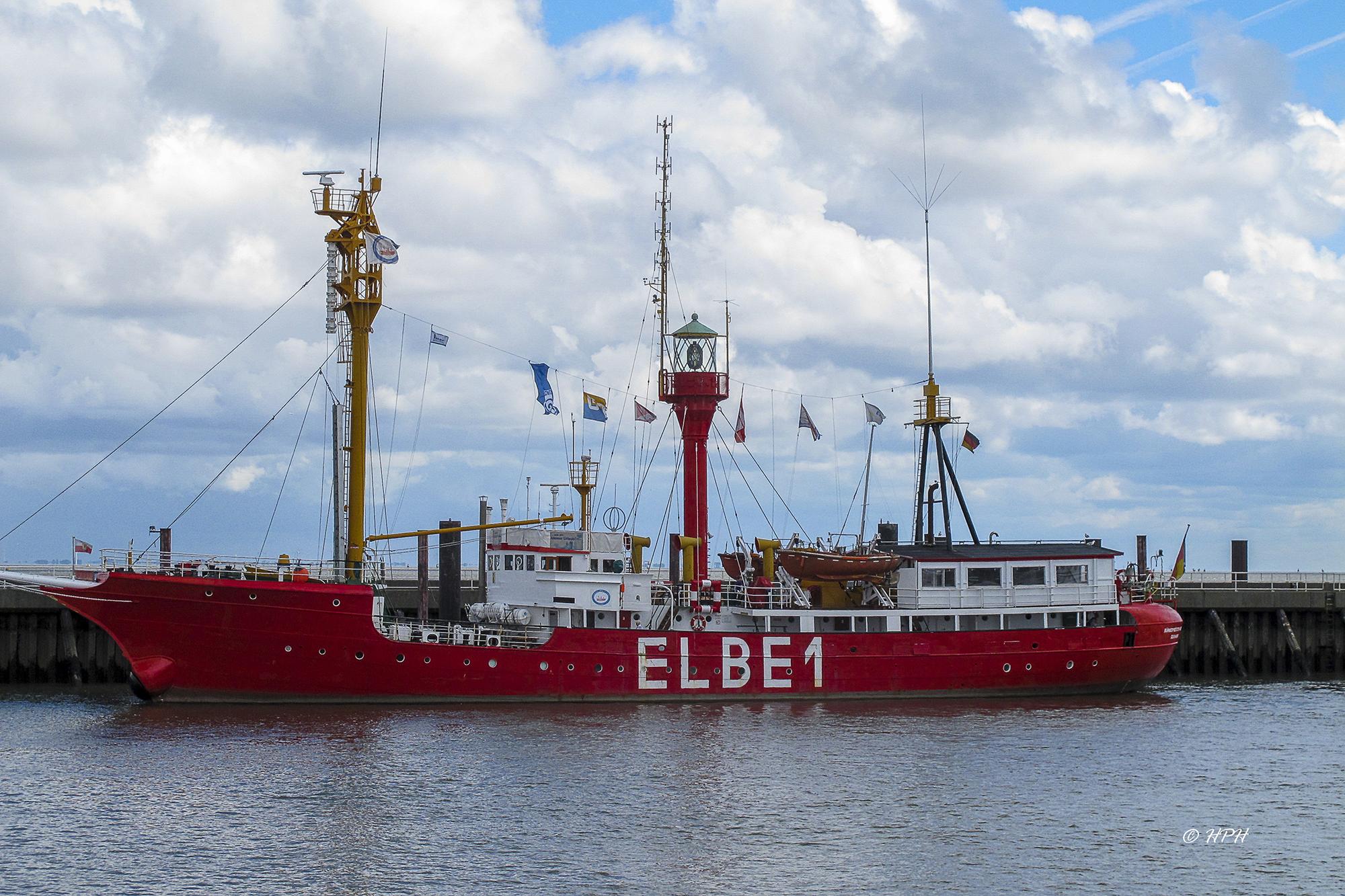 Lightship Elbe 1, Cuxhaven, Germany