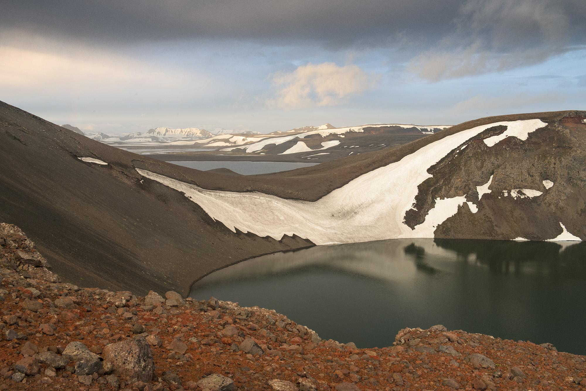 Hnausapollur (Bláhylur), Iceland