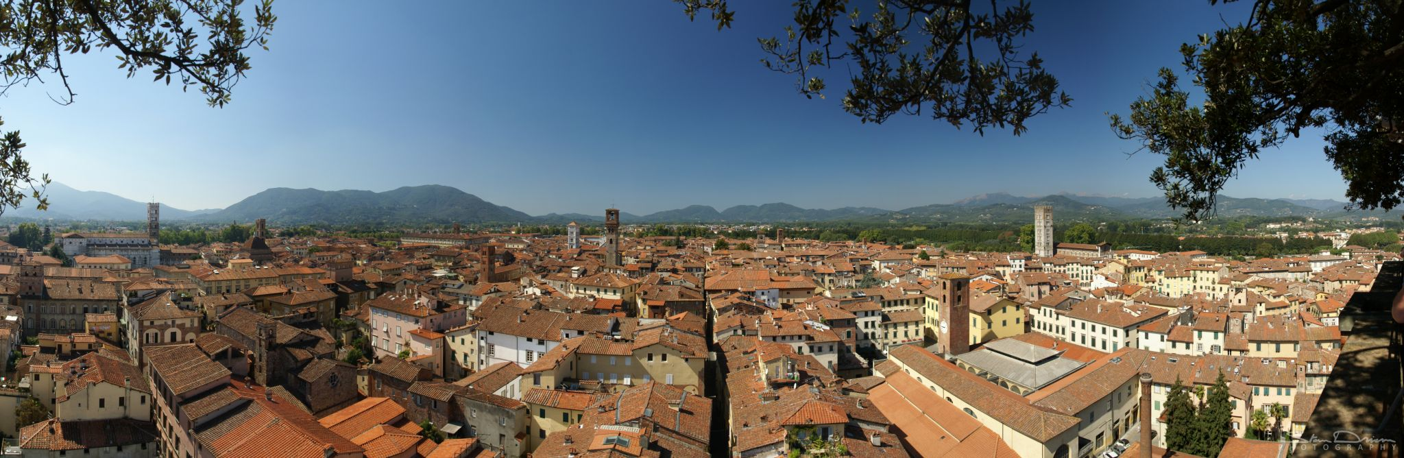 Lucca overlook, Italy