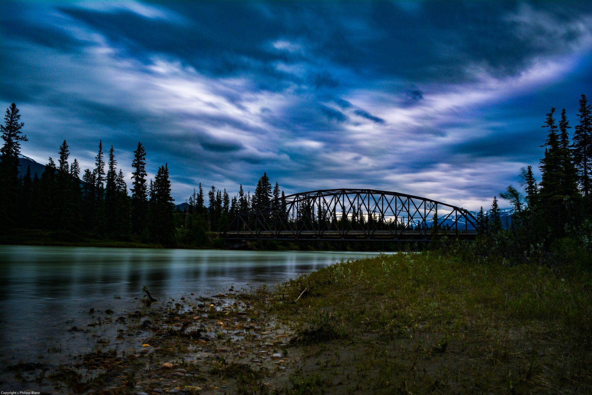 Maligne Lake Bridge, Canada