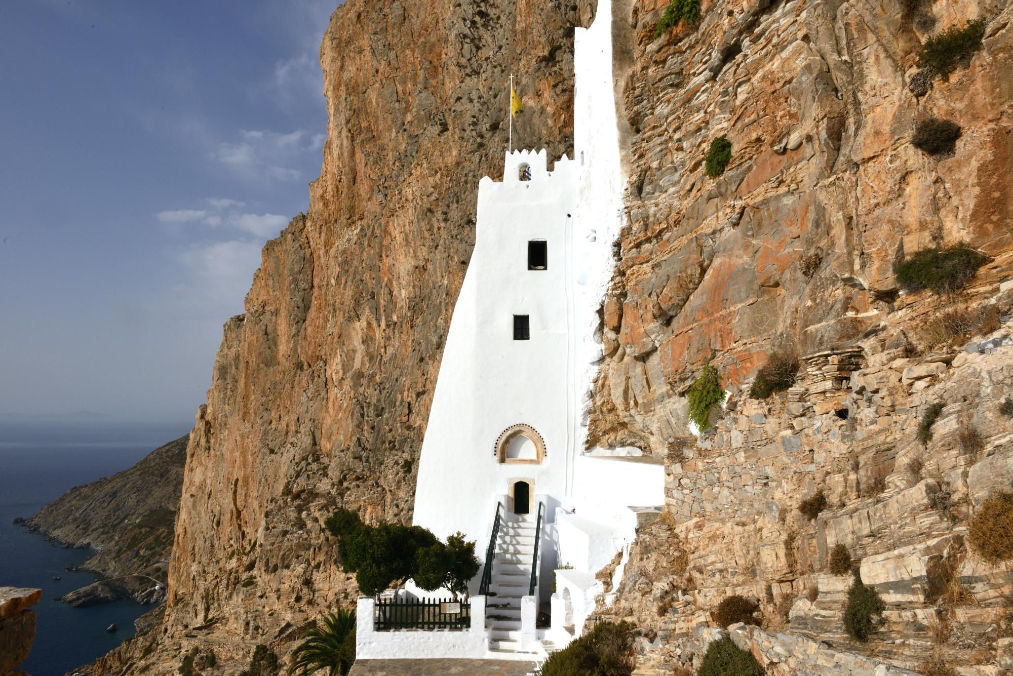 Monastery of Hozoviotissa, Amorgos island, Greece