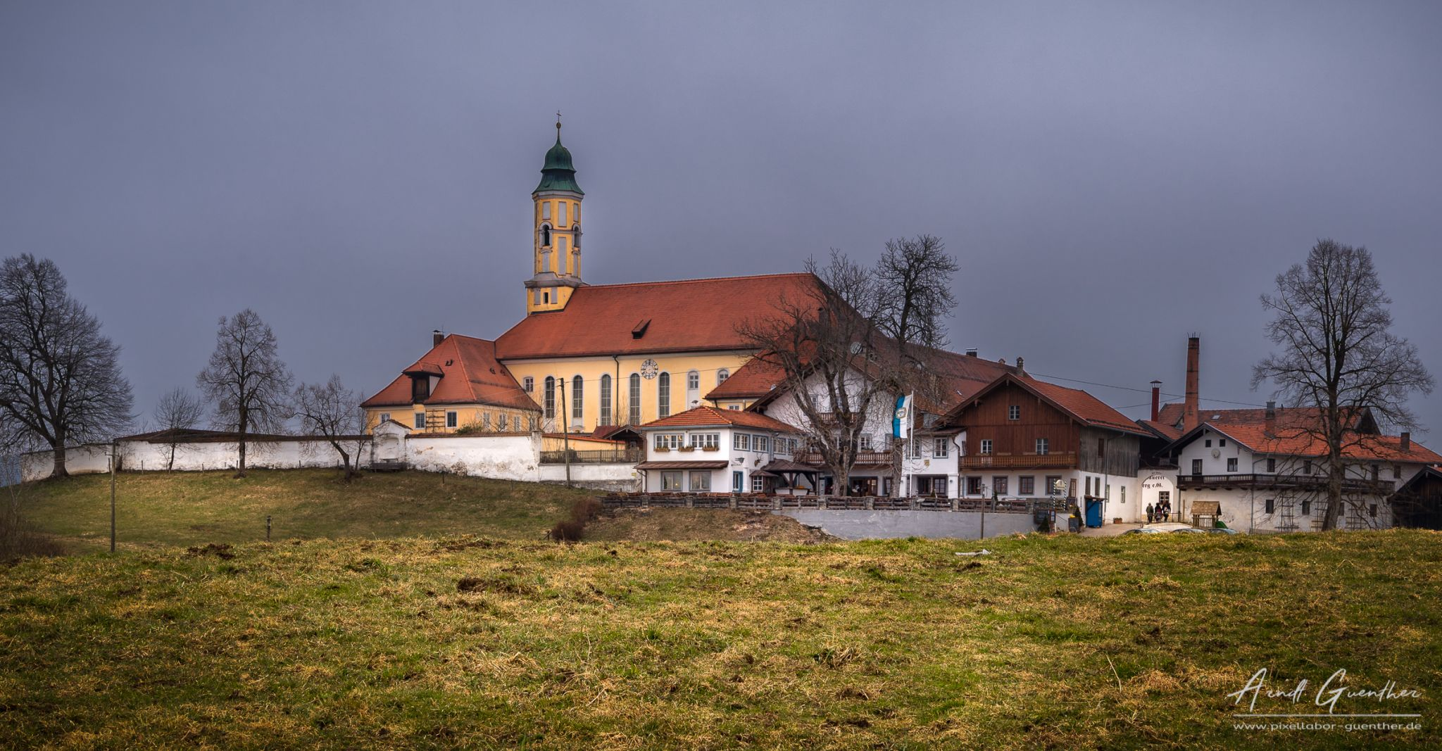 Monastery on the hill, Germany