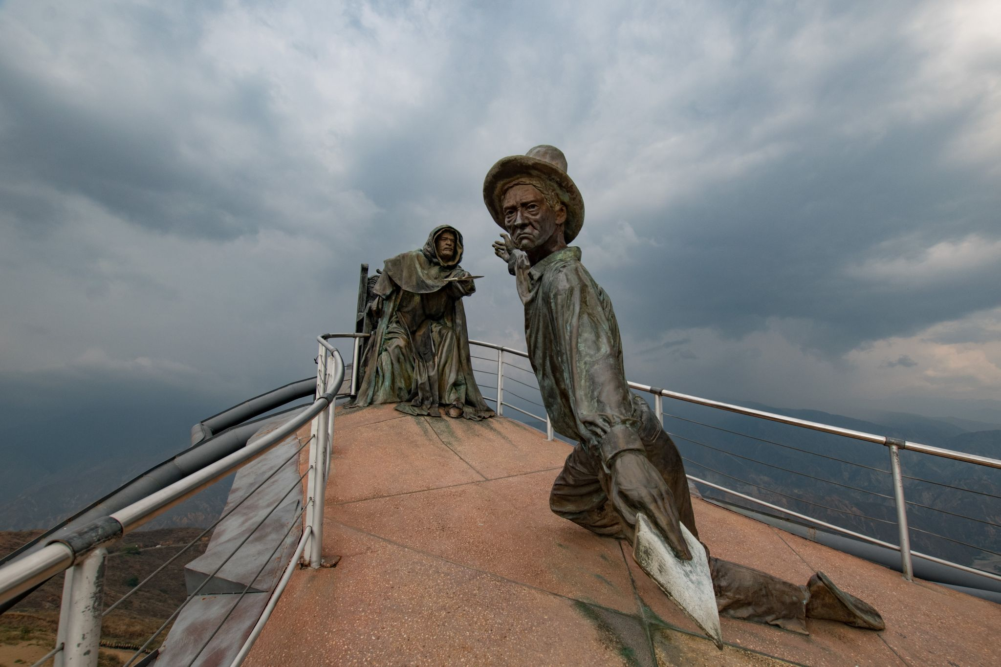 Parque Nacional del Chicamocha - Peasants' Revolt Monument, Colombia