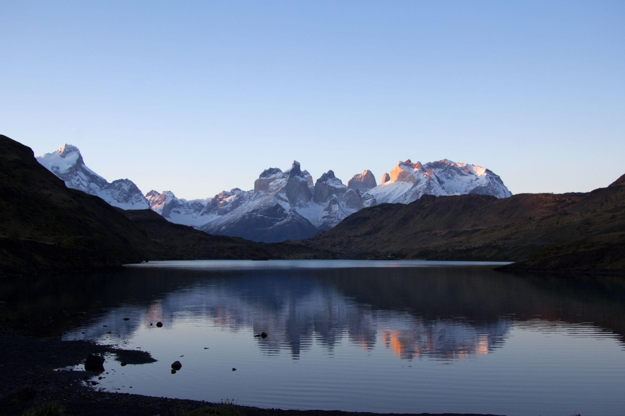 Rio Grey with Cuernos, Chile