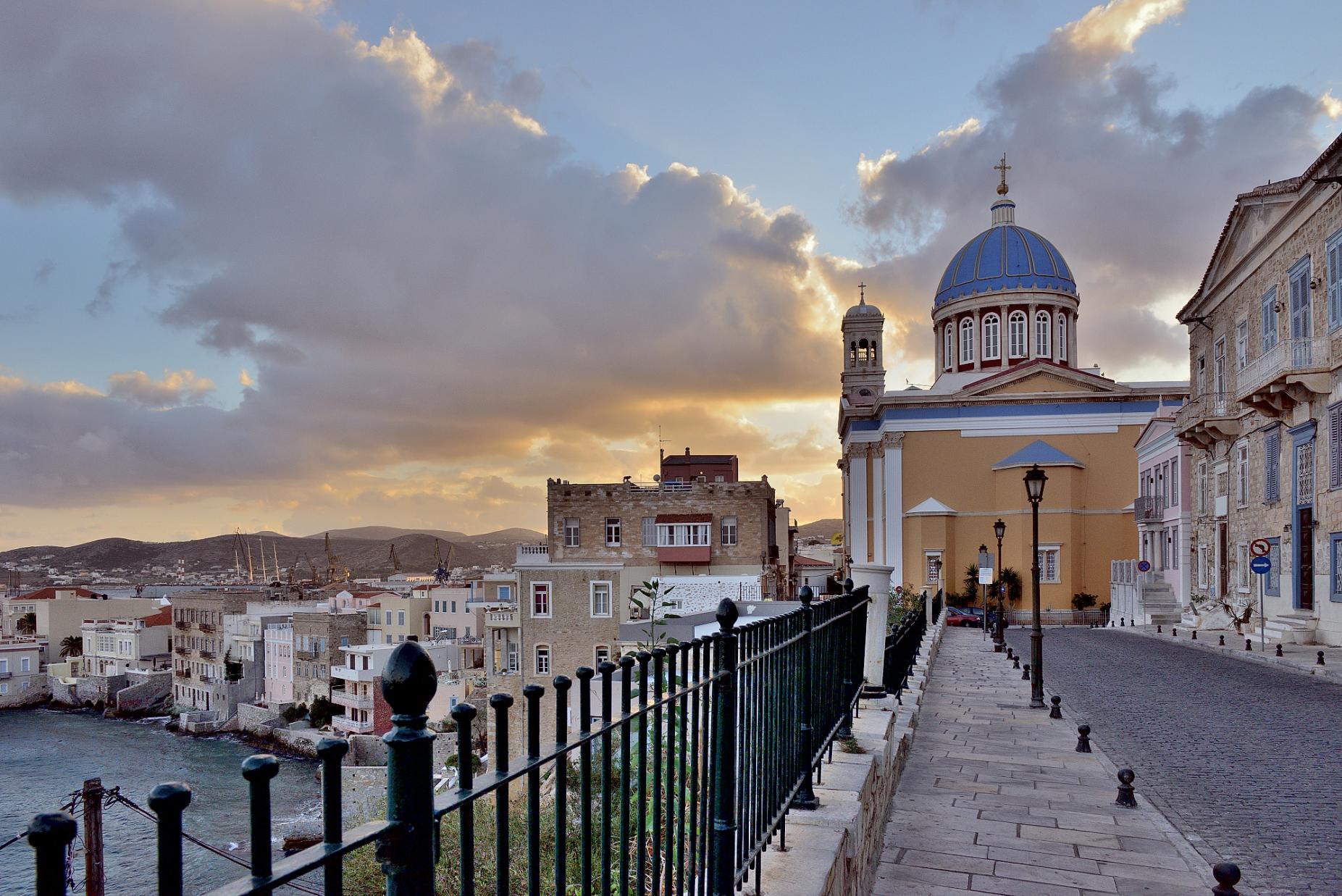 Saint Nikolas Church, Syros, Greece