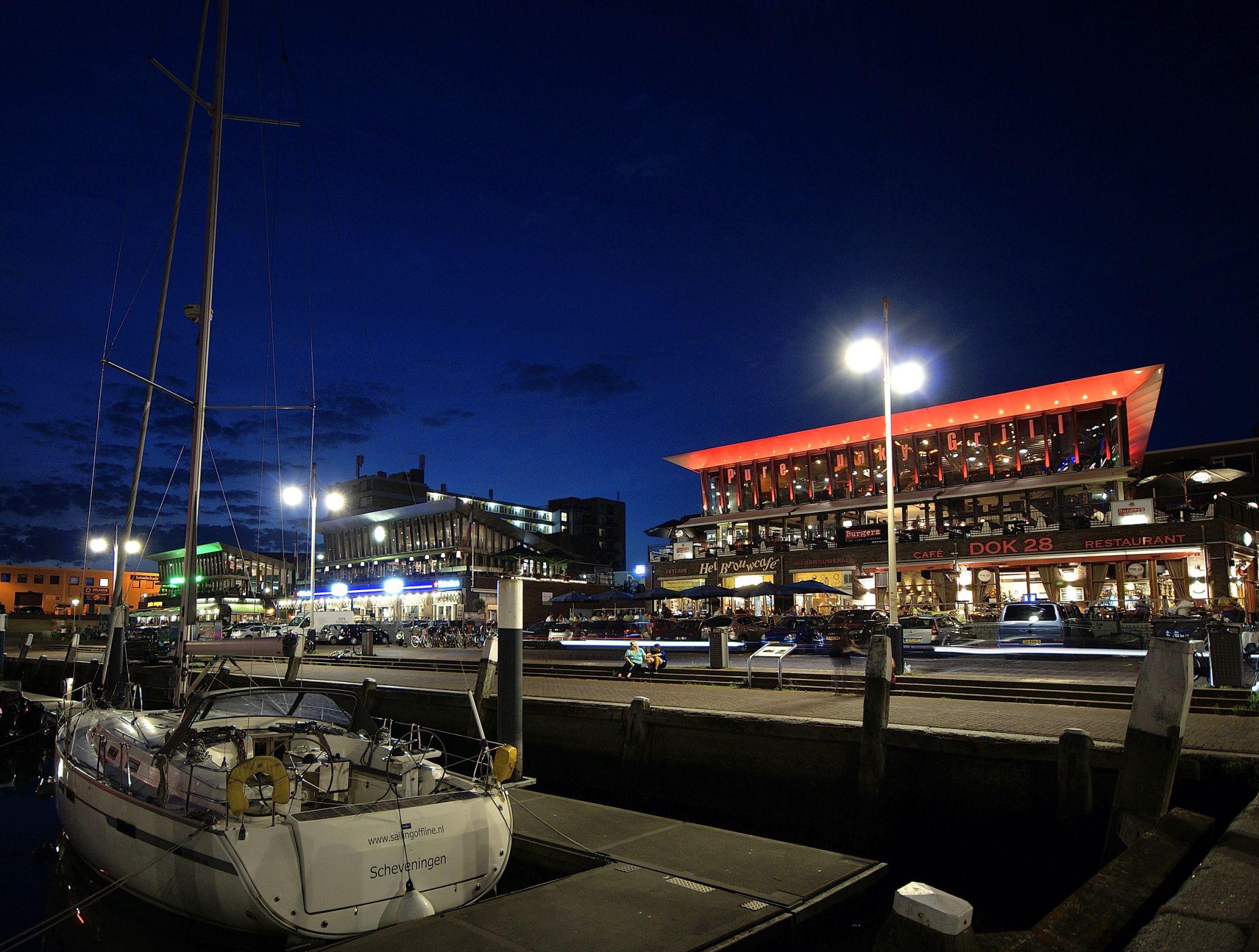 Scheveningen second harbor, Netherlands