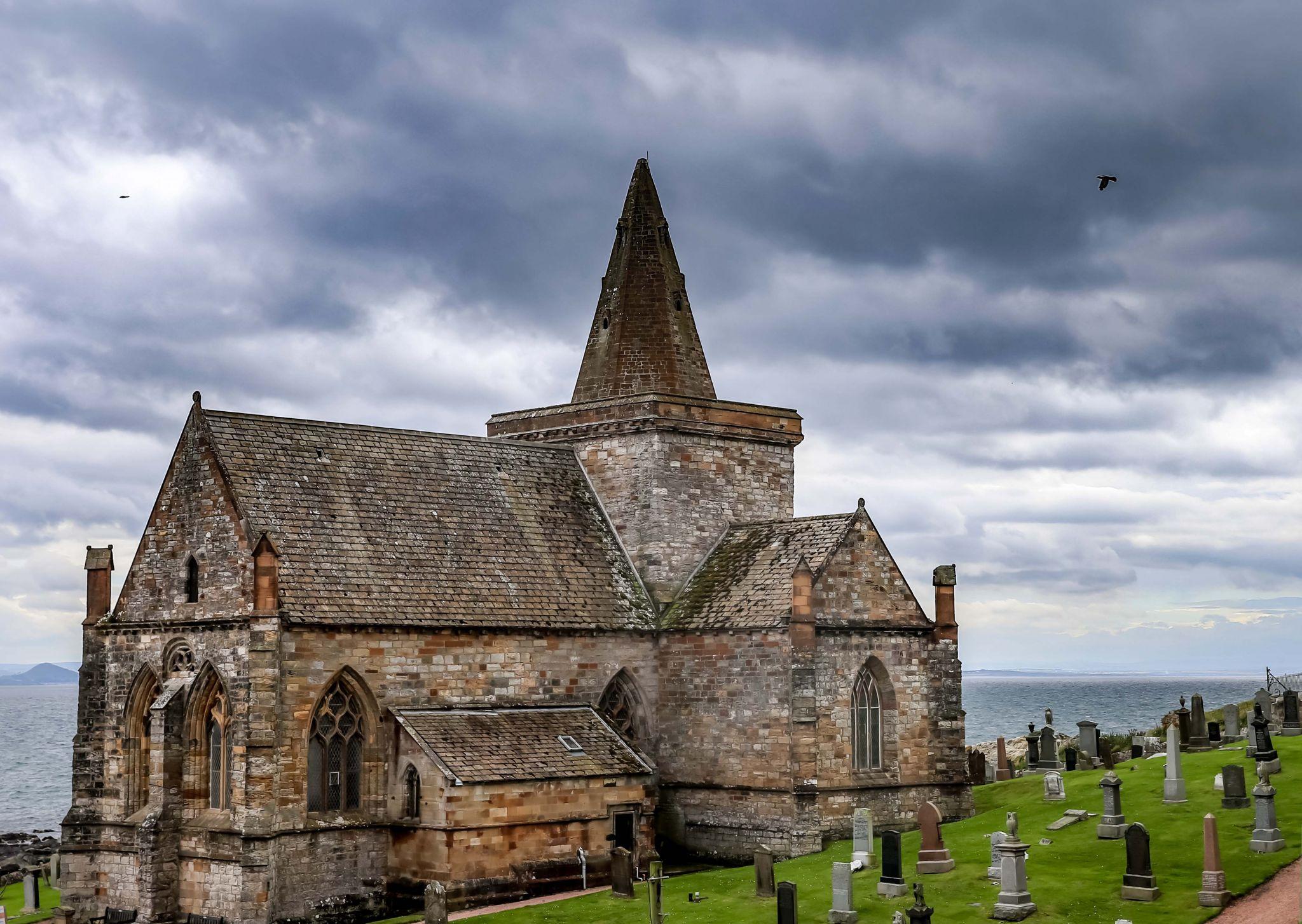St Monans Church, 'Auld Kirk', United Kingdom