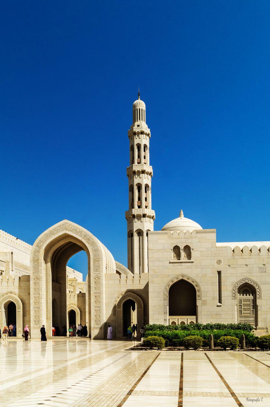 Sultan Qaboos Big Mosque, Muscat, Oman, Oman