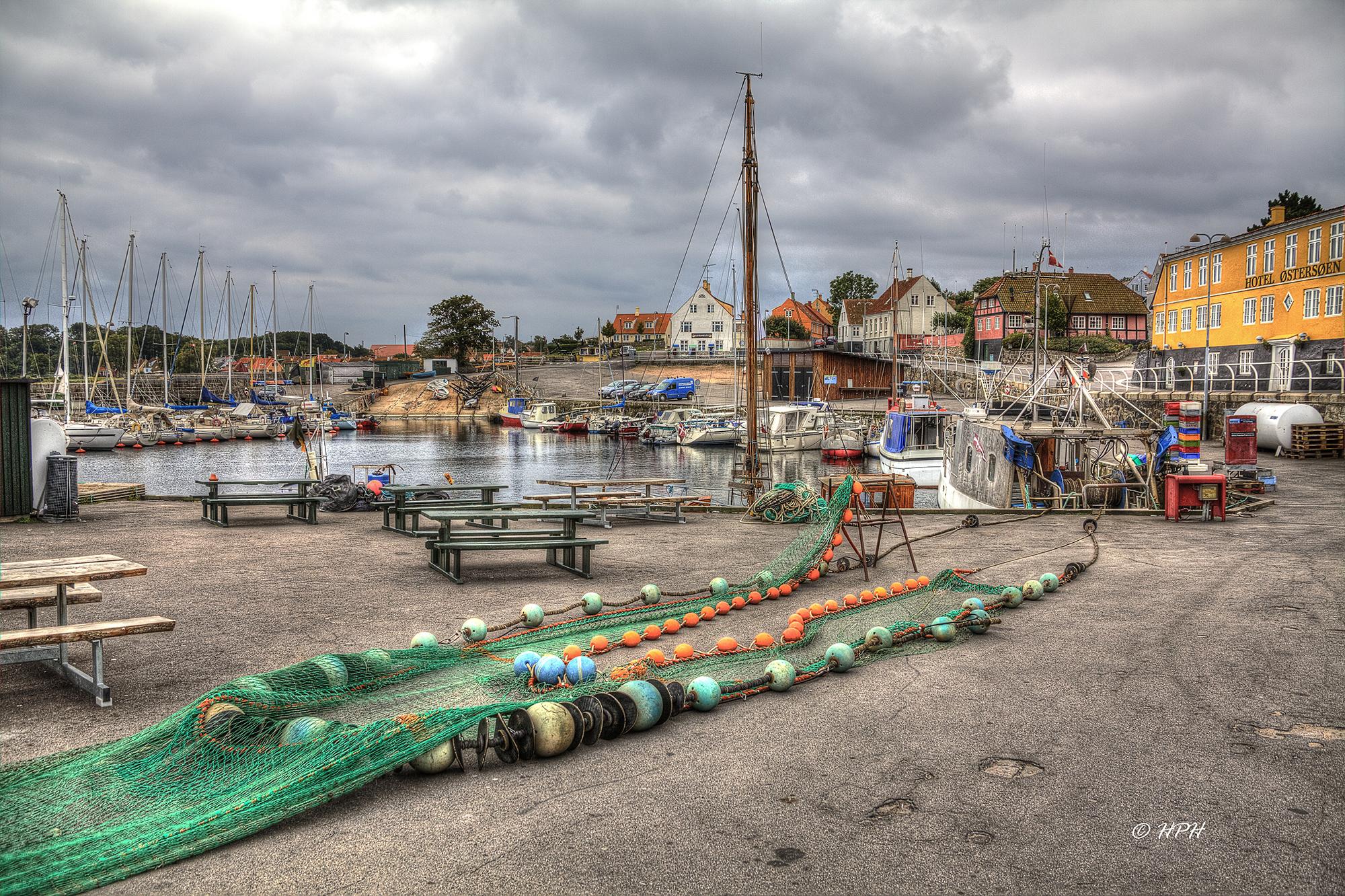 Svaneke harbour, Denmark