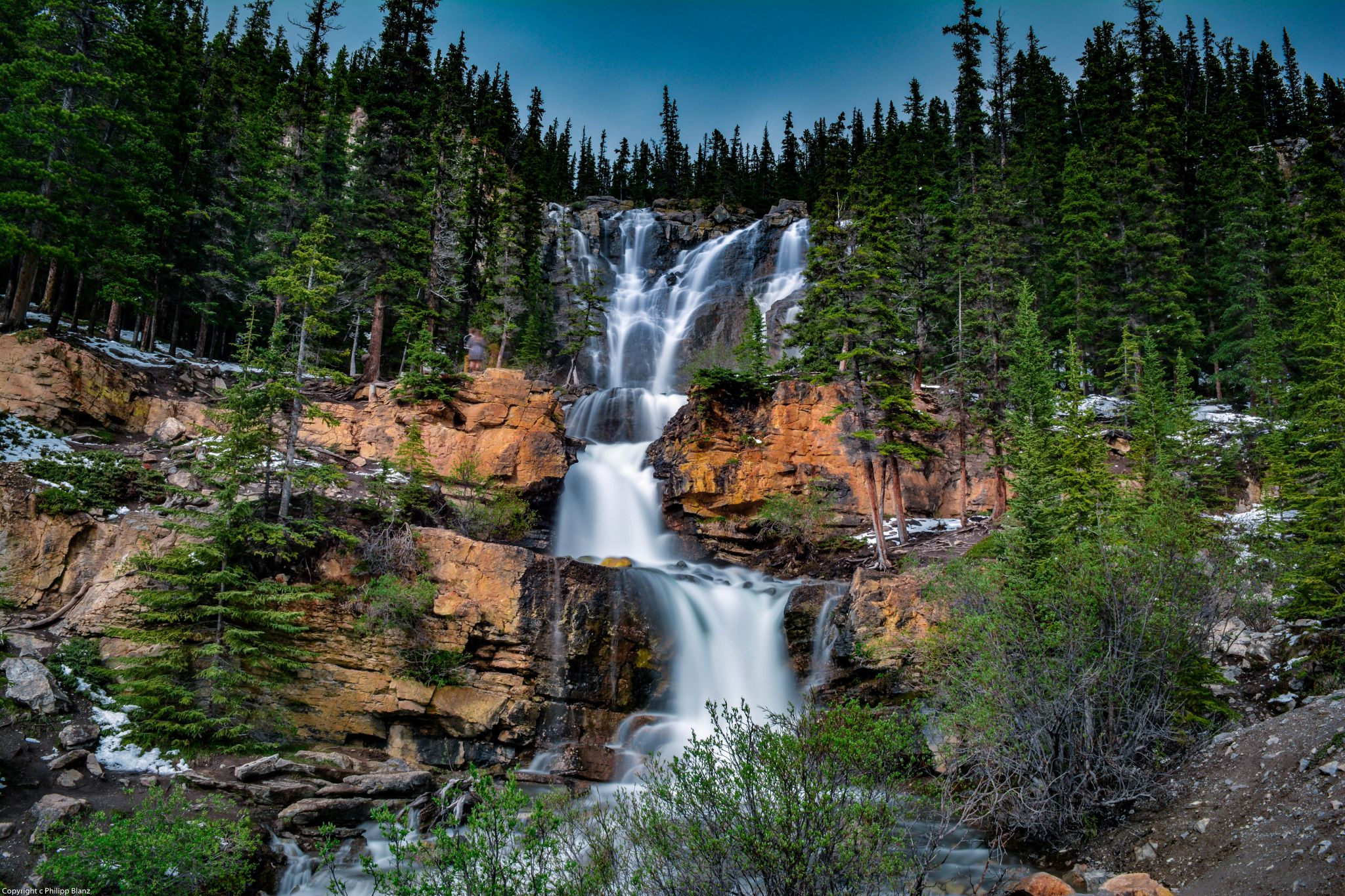 Tangle Creek Falls, Canada