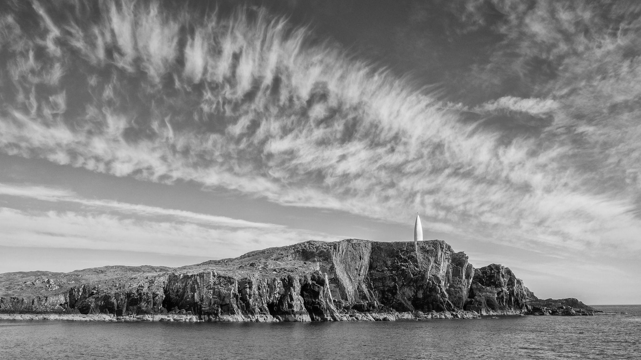 The Beacon from Baltimore Harbour, Ireland