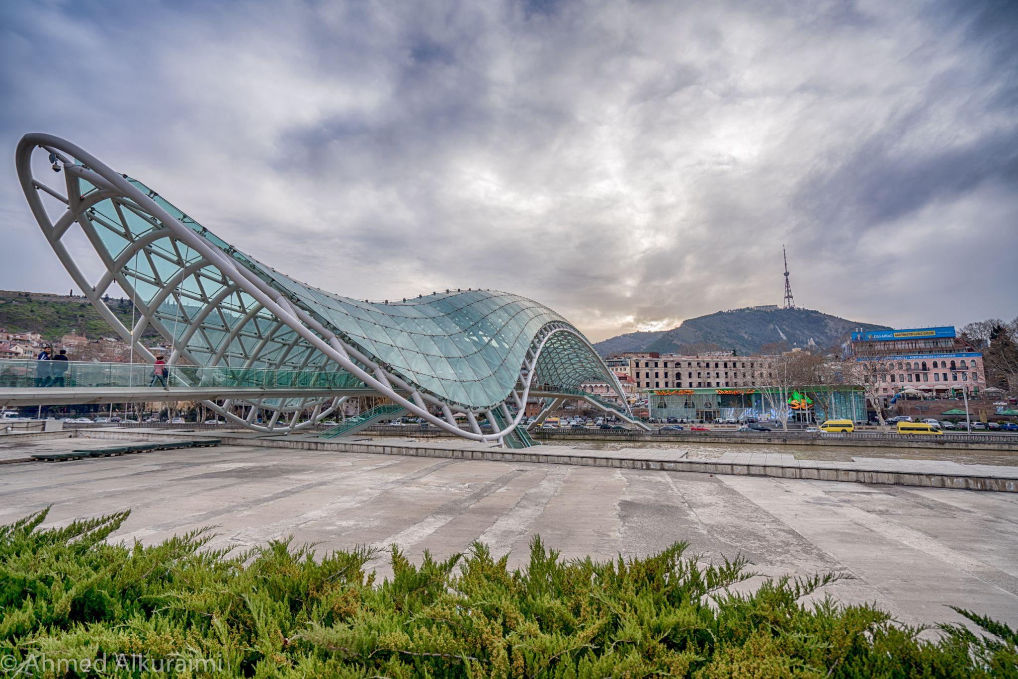 the bridge of peace, Georgia