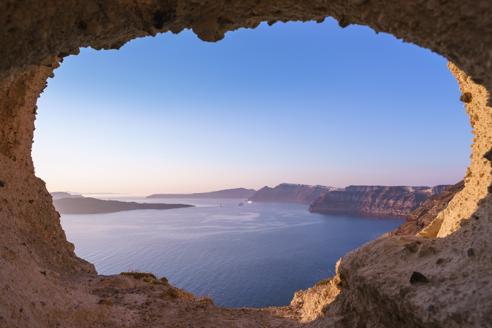 The Heart of Santorini, Greece