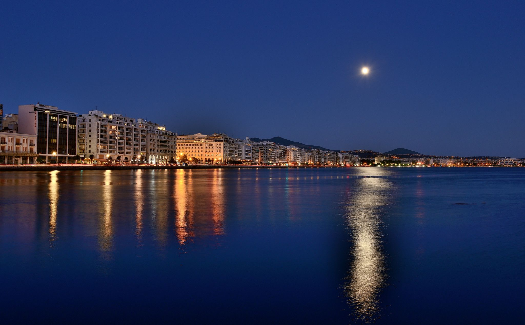 Thessaloniki Coastline and Promenade, Greece
