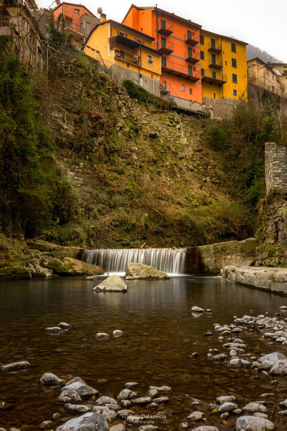 To the lago di Como, Italy