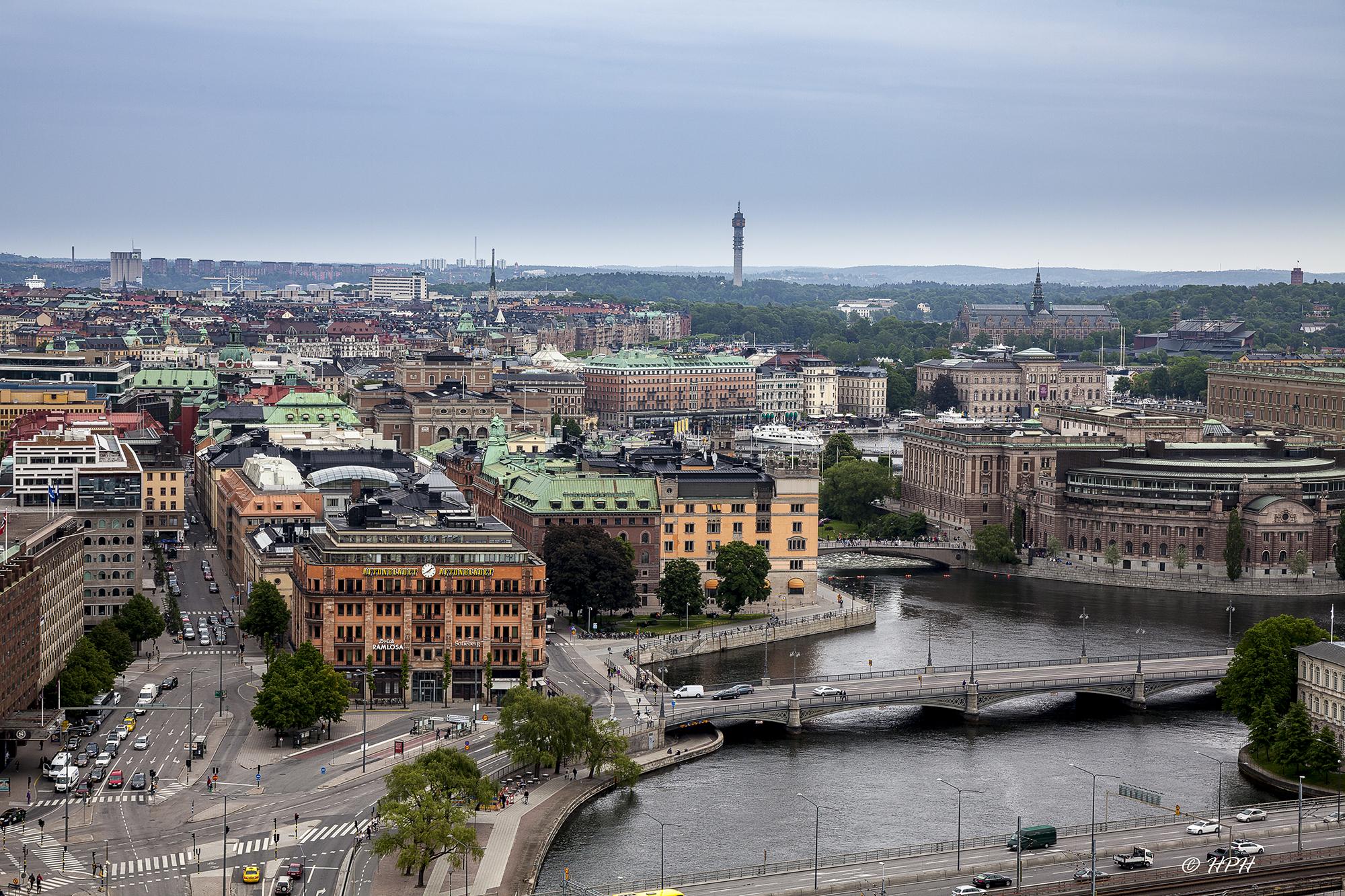 Tower of Stadshuset, Stockholm, Sweden